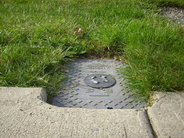 City of Parksville Water Metre Box